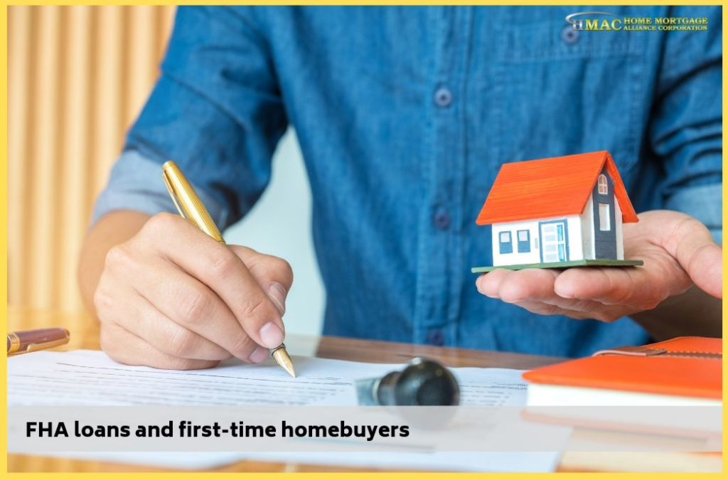 FHA loans and first-time homebuyers